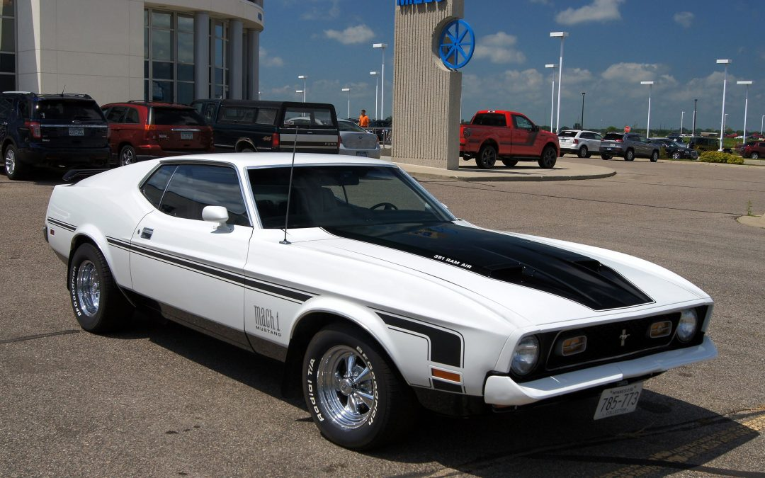 Would you consider the 1969 Mustang Mach 1 or the 1971 Mustang Mach 1?